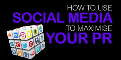 social media to maximise PR